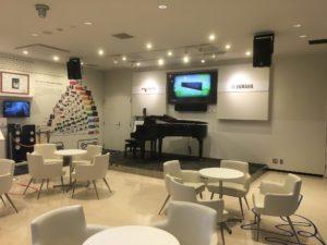 NEOPASA浜松の楽器展示