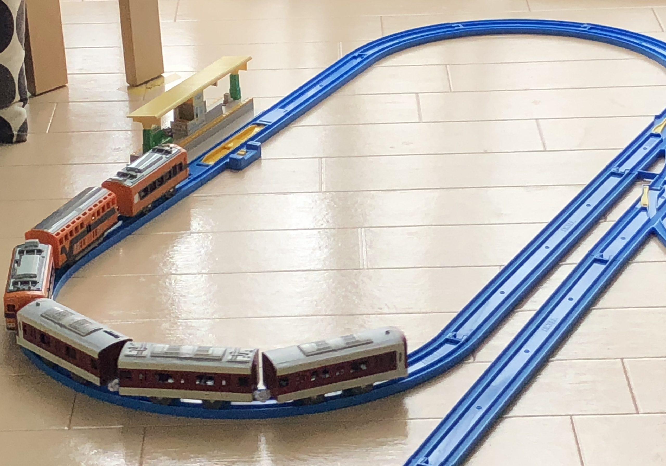 プラレール 近鉄特急と一般車輌
